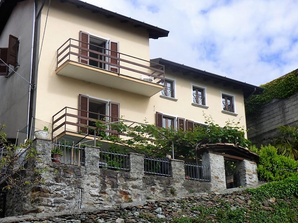Casa San Siro con giardino e vista Lago Como
