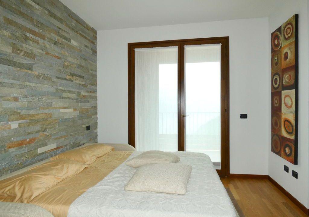 Appartamento Gravedona ed Uniti con Vista Lago - camera matrimoniale