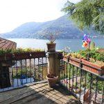 Blevio vista Lago Como con terrazzo