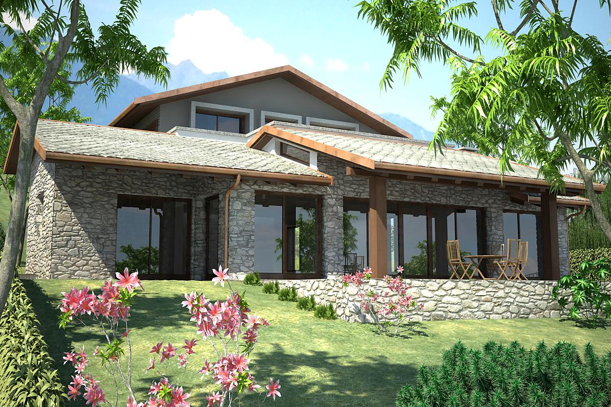 Villa moderna Tremezzina Vista lago con Terrazzi