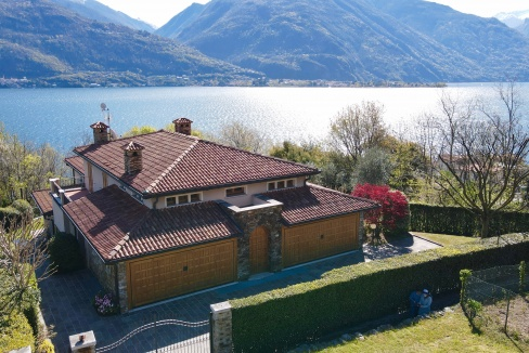 Villa Lago Como Con Piscina