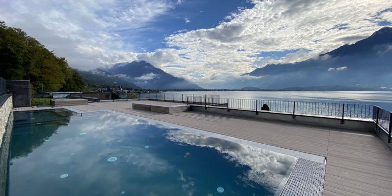 Appartamenti Gera Lario Lago Como - piscina