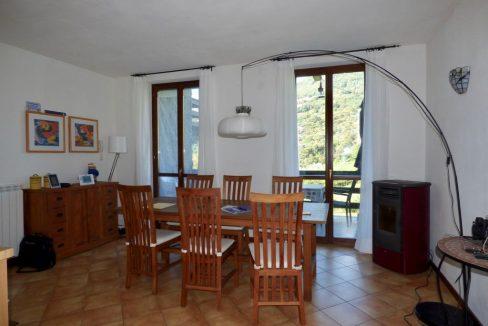 Appartamento Gravedona Lago Como - soggiorno