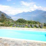 Appartamento moderno Menaggio vista lago con piscina