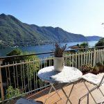 Appartamento Moltrasio vista Lago Como con balcone