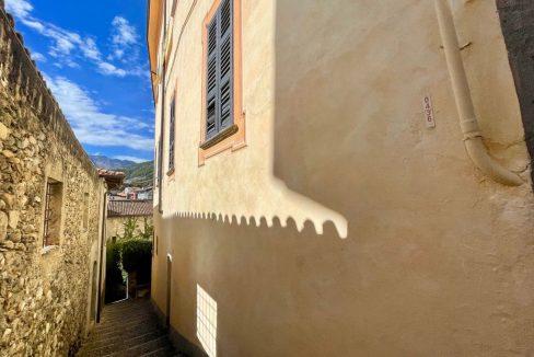 Villa d'epoca Gravedona ed Uniti Lago Como - esterno