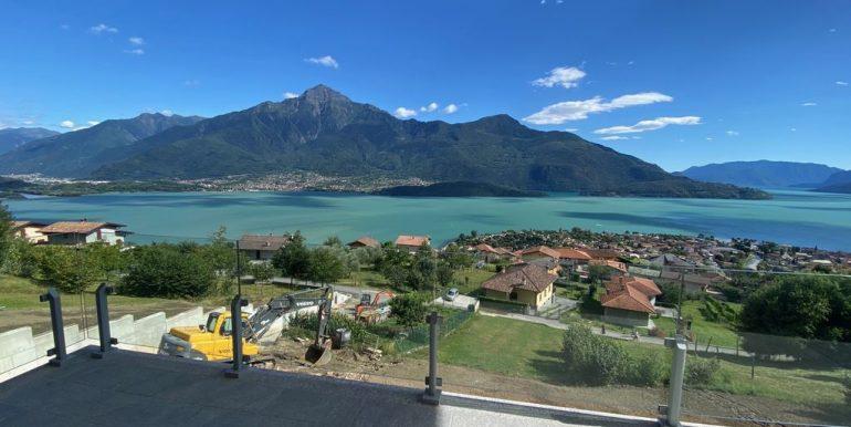 Appartamenti Vista Lago Como Domaso - terrazzo