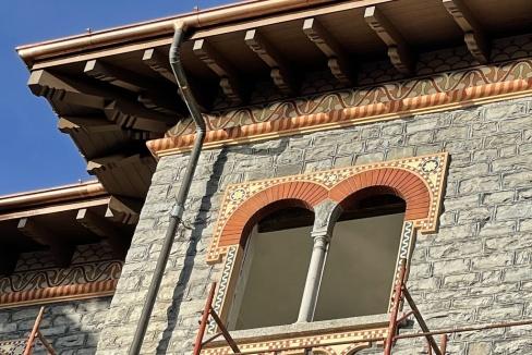 Appartamenti in Villa D'epoca Menaggio Lago Como - particolari