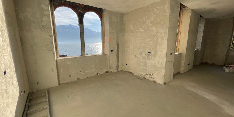 Appartamenti in Villa D'epoca Menaggio Lago Como - soggiorno