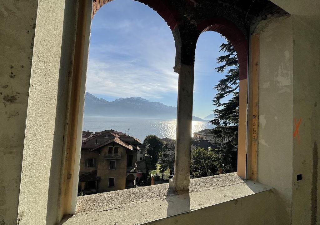 Appartamenti in Villa D'epoca Menaggio Lago Como - vista
