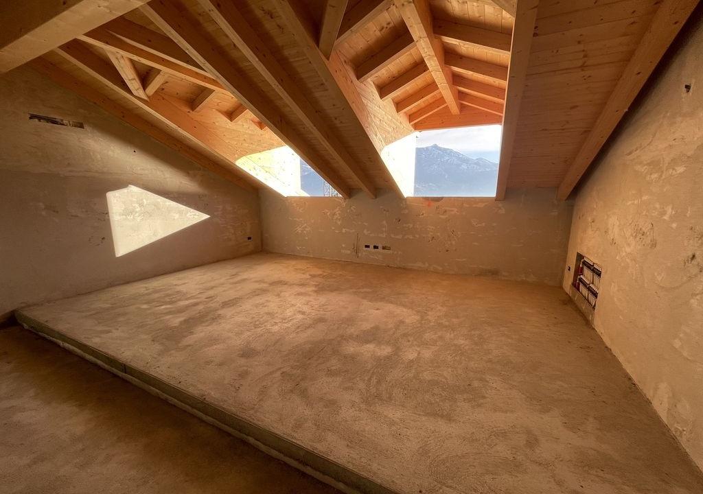 Appartamenti in Villa D'epoca Menaggio Lago Como - travi in legno