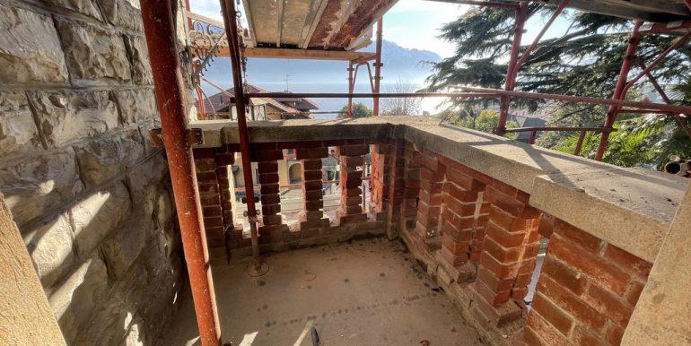 Appartamenti in Villa D'epoca Menaggio Lago Como - balcone