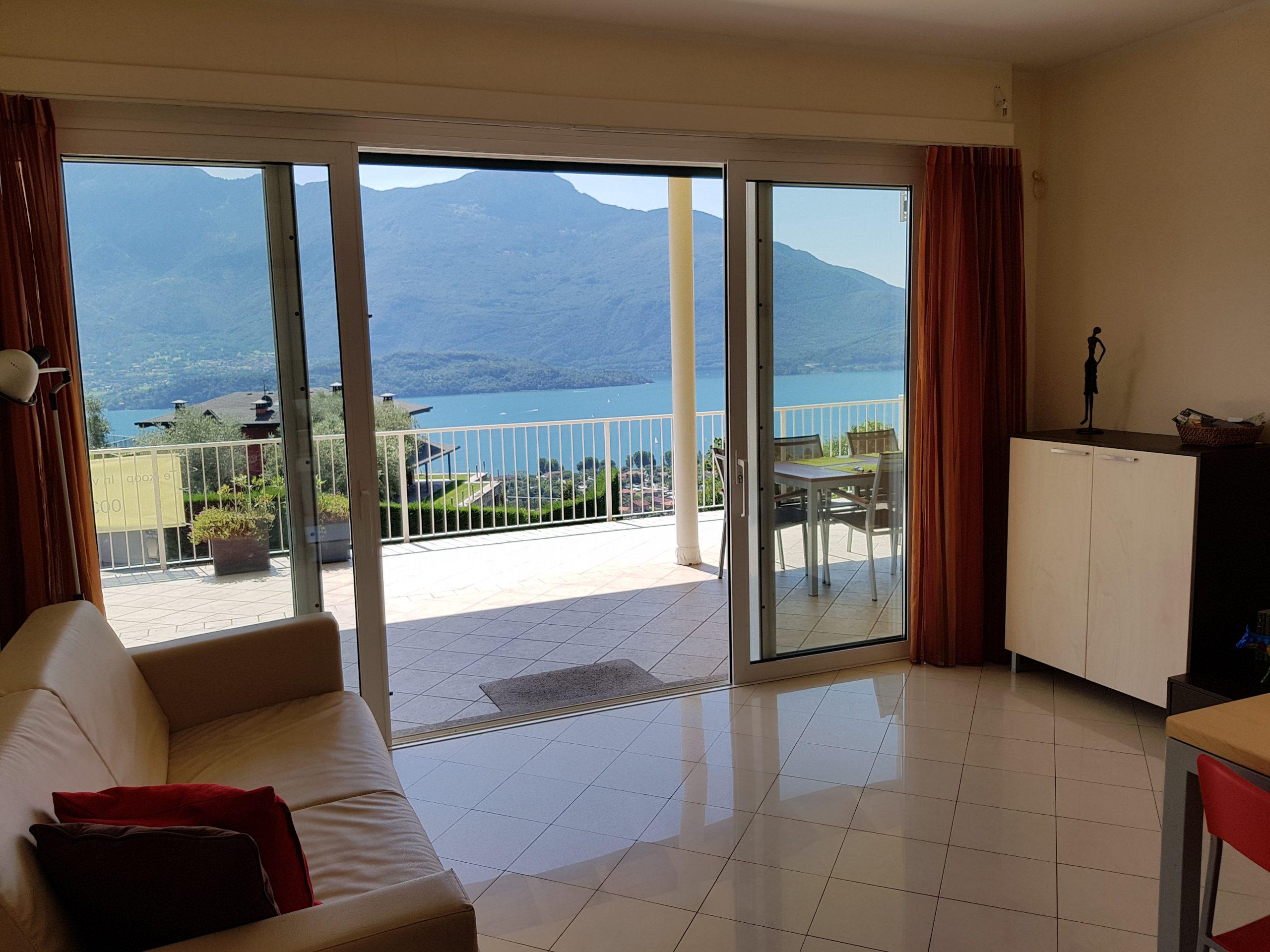 Appartamento Domaso Collinare Vista Lago Como
