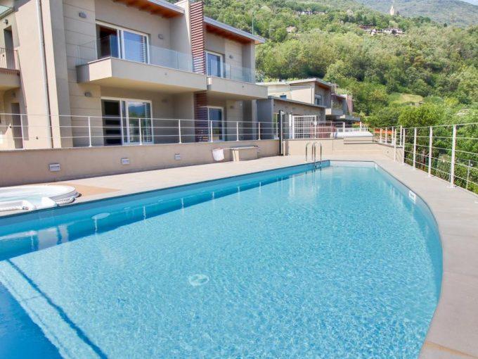 Appartamenti in Moderno Residence con Piscina Gera Lario
