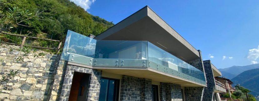 Appartamenti moderni Laglio vista Lago Como - terrazzo
