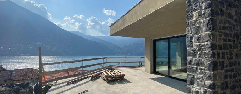 Appartamenti moderni Laglio vista Lago Como soleggiato