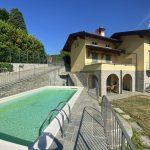 Villa Menaggio Vista Lago Como con piscina - facciata