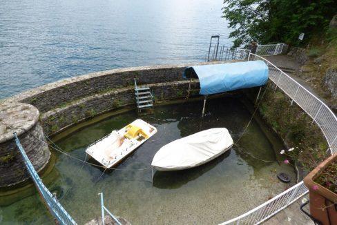 Villa Bellagio Fronte Lago Como con Darsena - posto barca