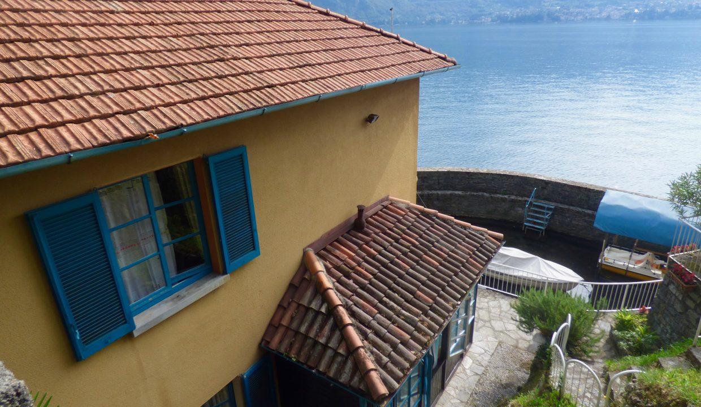 Villa Fronte Lago Bellagio Lago Como soleggiata