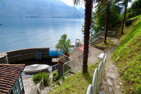 Villa Fronte Lago Bellagio Lago Como- esterni