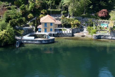 Villa Bellagio Fronte Lago Como con Darsena - esterno