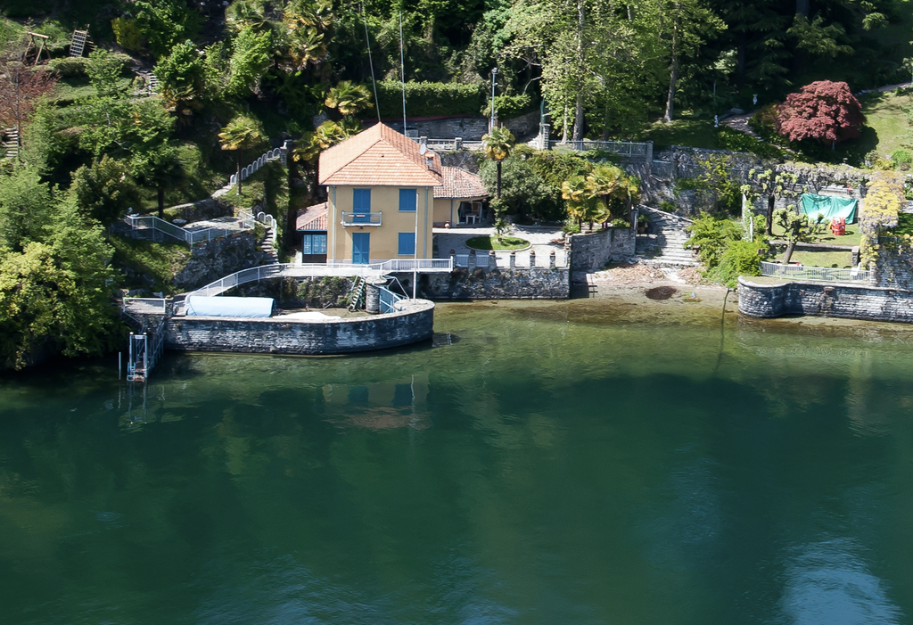 Villa Bellagio Fronte Lago Como con Darsena