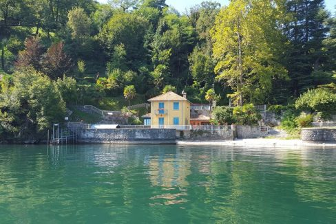 Villa Bellagio Fronte Lago Como con Darsena - esterni