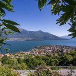 Appartamento Lago Como Domaso con Piscina