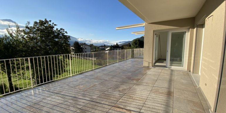 Appartamenti Gravedona ed Uniti Vista Lago Como - terrazzo