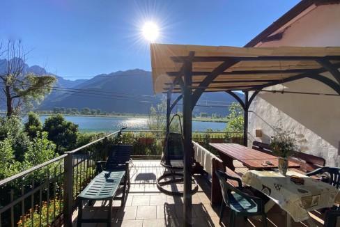 Lago Como Casa Indipendente con Accesso al Lago Sorico - terrazzo