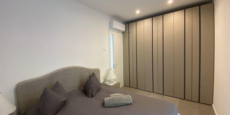 Lago Como Vercana Lussuoso Appartamento con Terrazzo - camera da letto