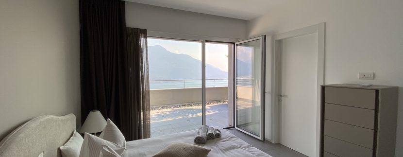 Lago Como Vercana Lussuoso Appartamento con Terrazzo
