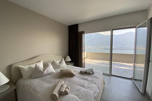 Lago Como Vercana Lussuoso Appartamento con Terrazzo - camera