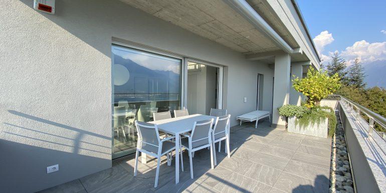 Lago Como Vercana Lussuoso Appartamento con Terrazzo -terrazzo
