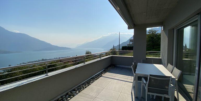 Lago Como Vercana Lussuoso Appartamento con Terrazzo - soleggiato