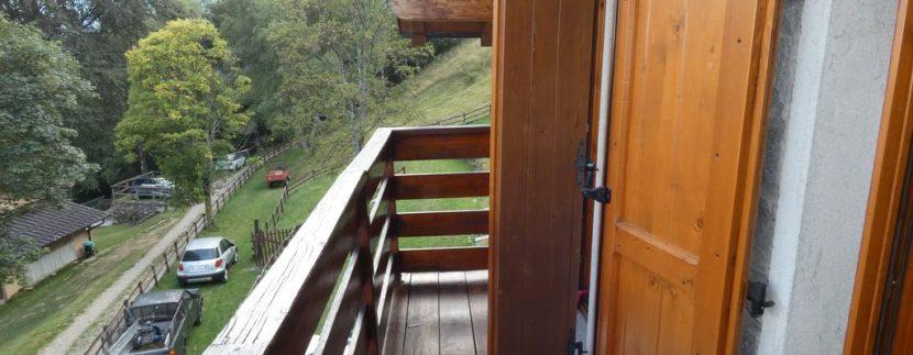 Gravedona ed Uniti Casa con Terreno Collinare - balcone
