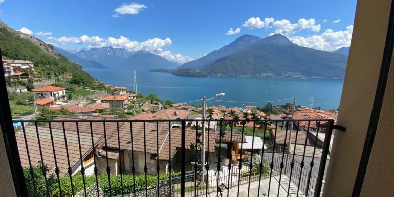 Villa Vista Lago Como Musso - terrazzo