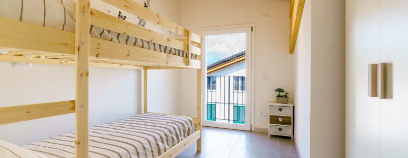 Appartamenti Arredati Domaso Lago Como - letto a castello