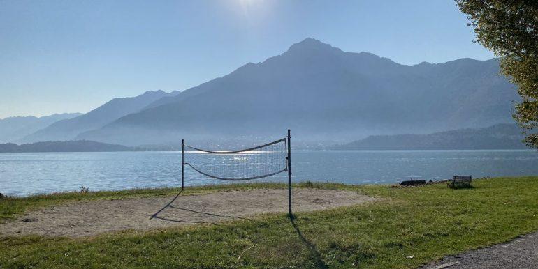 Affitto Appartamento Fronte Lago Domaso  - spiaggia