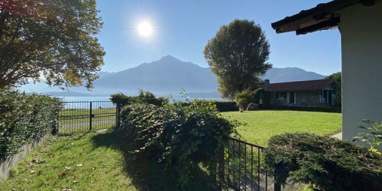 Affitto Appartamento Fronte Lago Domaso  - accesso lago