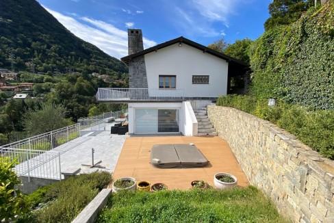 Villa Vista Lago Como Argegno - esterno