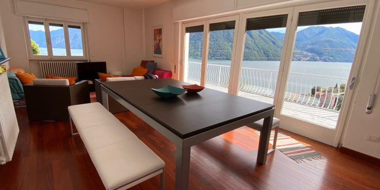 Villa Vista Lago Como Argegno - soggiorno