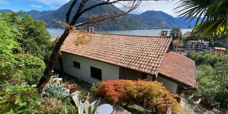 Villa Vista Lago Como Argegno - retro