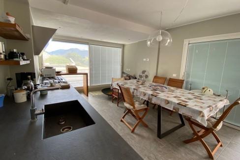 Villa Vista Lago Como Argegno - cucina