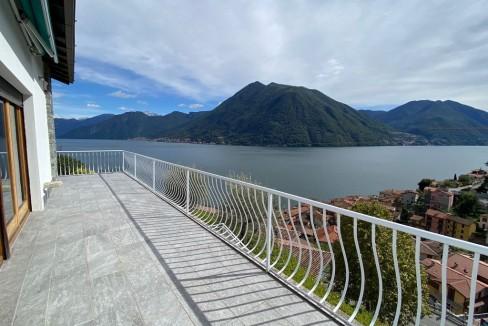 Villa Vista Lago Como Argegno - terrazzo