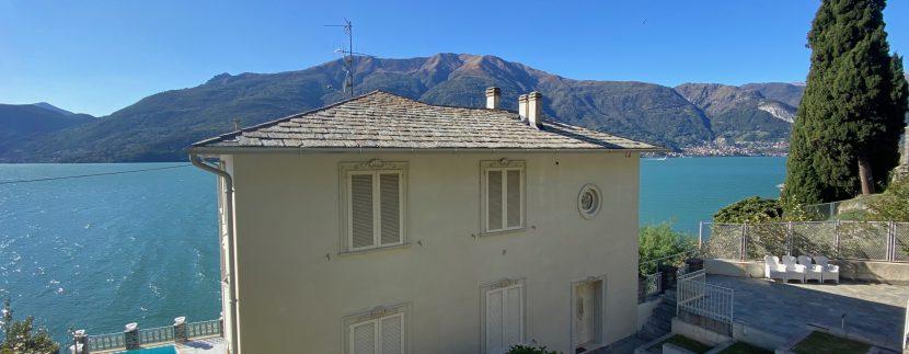 Villa Fronte Lago Como Dervio - esterno