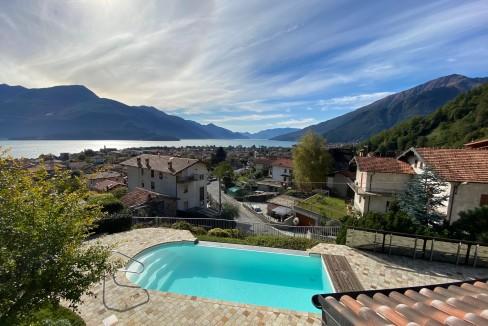 Lago Como Villa con Piscina Gravedona ed Uniti  - terrazzo