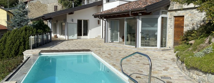 Lago Como Villa con Piscina Gravedona ed Uniti  - piscina