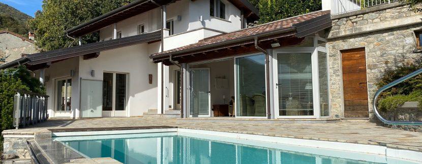 Lago Como Villa con Piscina Gravedona ed Uniti  - garage