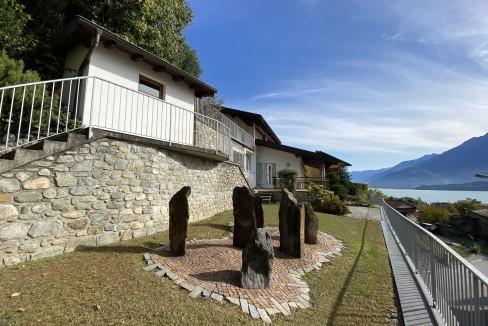 Lago Como Villa con Piscina Gravedona ed Uniti  - esterno